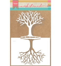 Marianne Design PS8025 Mask Stencils - Tree