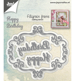 Joy!Crafts-Snijstencils -Filigraan frame-6002/1283