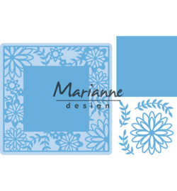 LR0577 Marianne Design Creatable Flower Frame square