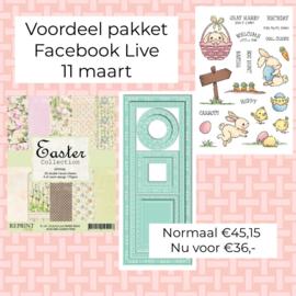 Facebook live 11 maart
