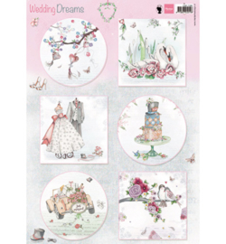 Marianne Design EWK1266 Knipvel A4 Wedding Dreams