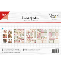 6011/0414 Labelvellen/knipvel - Noor - Secret Garden