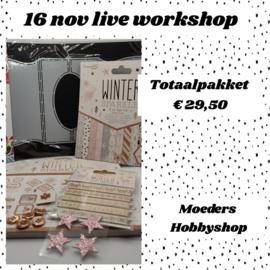 Online workshop 16 november