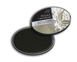 Spectrum Noir - Inktkussen - Midas Metallic - Platinum
