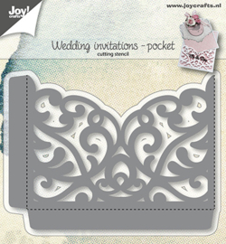 Joy!Crafts-Snijstencil -Giftcardpocket-6002/1270