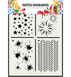 Dutch DoBaDoo-Dutch Mask Art -mulit stencil A6- 470.715.131
