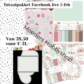 Facebook live 5 februari