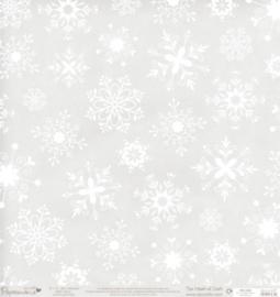 Papermania- vellum met glitterprint 30 cm bij 30 cm