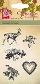 Clear stamp kerst 001849/0094