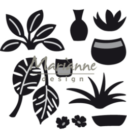 Marianne Design CR1464 Craftable Marleen's greenery
