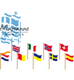 Marianne Design-Creatable-Flags-LR0603