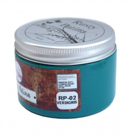 Imagination crafts - rusty patina - groen/ turquoise