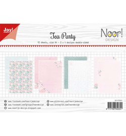 Joy!Crafts - Papierset - Noor - Design Tea Party - 6011/0651