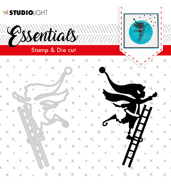 studio Light-  snijmal en stempel- Essentials Christmas Silhouettes no. 35- BASICSDC35