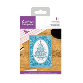 Crafter's Companion - stempel -  Under The Tree - CC-CA-ST-UTT