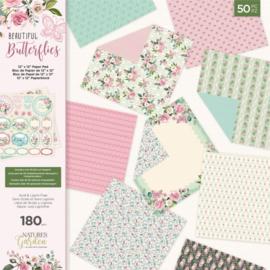 Crafters Companion - papierblok Natures Garden -  NG-BBUT-PAD12