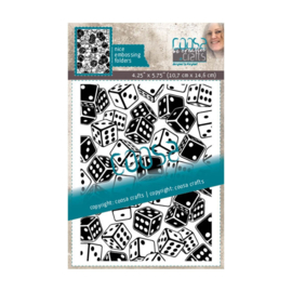 COOSA Crafts - Embossing folder - Rolling dice - COC-082