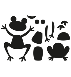 Marianne Design - Craftable - Frogs - CR1514