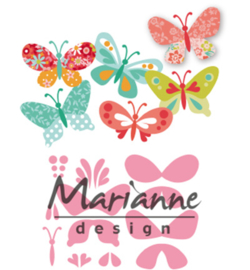Marianne Design-Collectable Eline's butterflies-COL1466