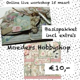 Online live workshop 15 maart - basispakket