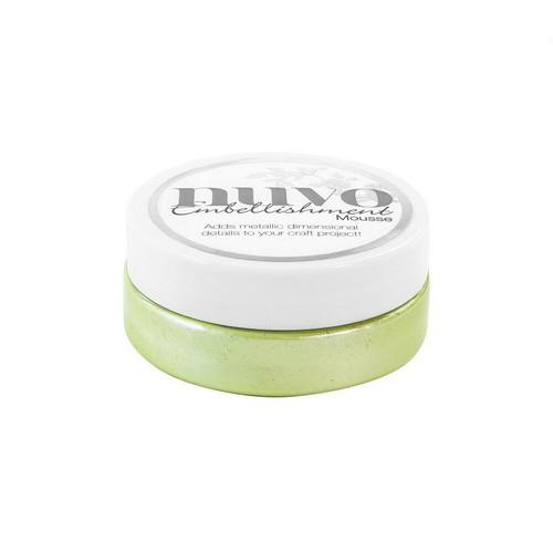 Nuvo embellishment mousse - spring green -808N