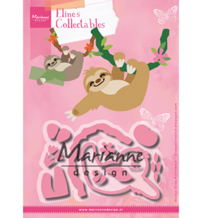 Marianne Design-Collectable-Eline's Sloth-COL1471
