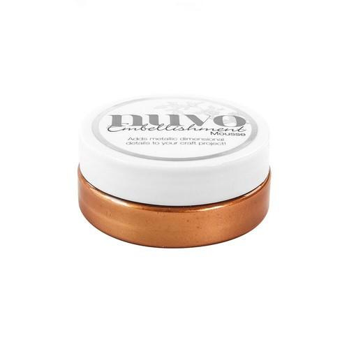 Nuvo embellishment mousse - fresh copper- 809N