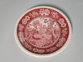 Rusticana rood plat Dinerbord 26 cm