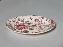 Engels Johnson Bros Rose Chintz Beleg-Vleesschaaltje 20 cm