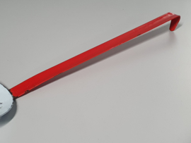 Emaille rood wit Spaan
