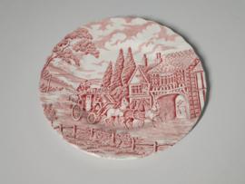 Engels rood Myott Royal Mail Ontbijtbordje 19,5 cm