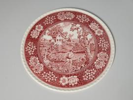 Rusticana rood Serveerplateau Gebakschaal 32 cm