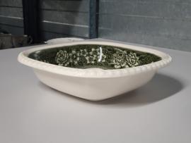Rusticana groen Serveerschaal 23 cm (vierkant)