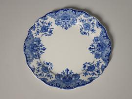 Boch BFK decor Dordrecht blauw Ontbijtbordje 22 cm