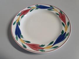 Apart Boerenbont Regout Tulp Ontbijtbordje 21 cm