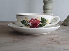 Apart Boerenbont Societe Ceramique decor Kamperfoelie Kop en schotel