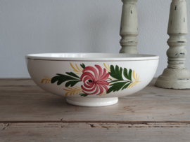 Apart Boerenbont Societe Ceramique decor Kamperfoelie Slabak Serveerschaal 23 cm