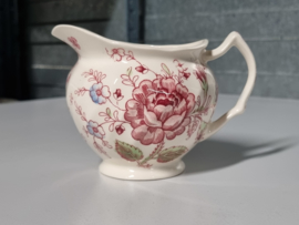 Engels Johnson Bros Rose Chintz Roomkannetje 9,5 cm