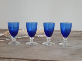 Max Verboeket Maastricht Carnaval K5 Set Borrelglaasjes Roemer blauw