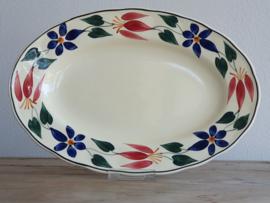 Apart Boerenbont Societe Ceramique decor Triumph Serveerschaal 33 cm