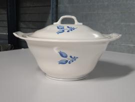 Frans blauw Tulpina Soepterrine