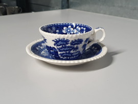 Engels Spode Copeland blauw