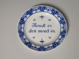 Societe Ceramique Wandbord Sierbord ø 23 cm Houdt er den moed in