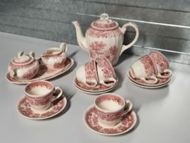 Burgenland rood Koffieservies 6-pers.
