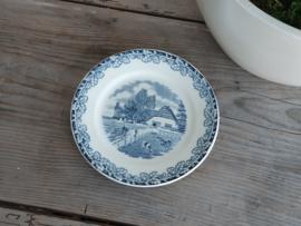 Boerenhoeve Sphinx blauw Ontbijtbordje 20,5 cm