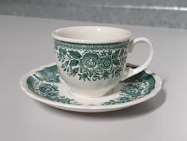 Villeroy en Boch Fasan groen Espresso kop en schotel