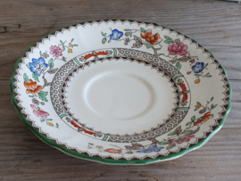Engels Spode Copeland Chinese Rose losse Schotel 15 cm