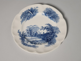 Engels blauw Haddon Hall Dinerbord 26 cm