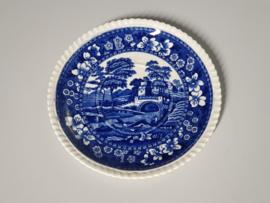 Engels Copeland blauw Spode's Schotel Soepkom 18 cm