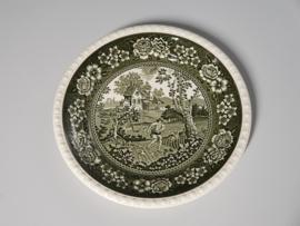 Rusticana groen plat Dinerbord 26 cm